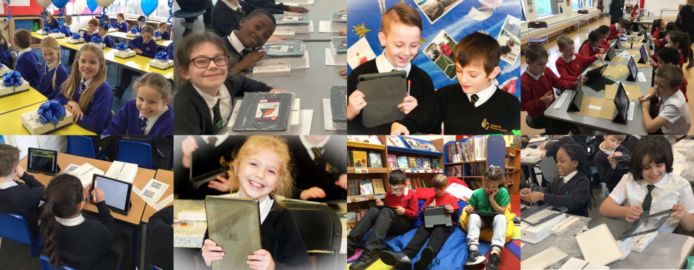 ipads for learning primary launch at windsor academy trust